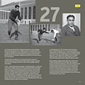 Page of pictures from University of Michigan football gift book WOLVERINE: A Photographic History of Michigan Football, Vol. 1