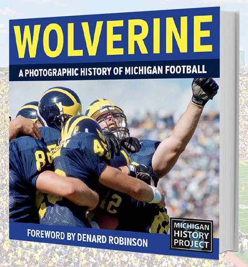 University of Michigan gift picture football book WOLVERINE: A Photographic History of Michigan Football, Vol. 1